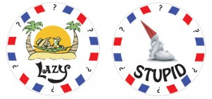 Custom made poker chips